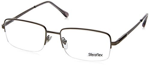 Sferoflex SF2270 Eyeglass Frames 231-54 - Matte Gunmetal