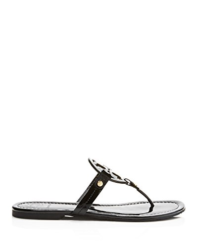 Pictures of Tory Burch Miller Patent Leather Sandal Black (9) 2
