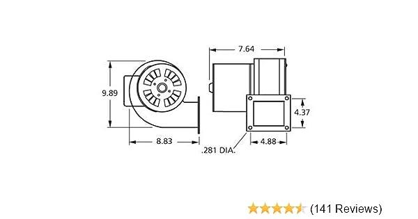 Amazon.com: Fasco B45227 115 Volt 265 CFM Centrifugal Blower: Garden on