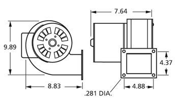 amazon com fasco b45227 115 volt 265 cfm centrifugal blower garden Empire Wiring Diagrams image unavailable