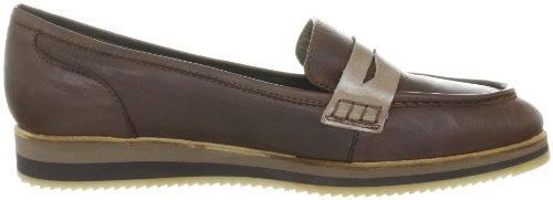 xyxyx Loafer XY22023 - Zapatos casual de cuero para mujer Marrón (coiba/abantos)