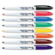 sanford-brands-wet-erase-overhead-transparency-marker-fine-point-black