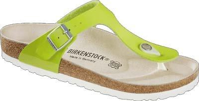 Birkenstock Gizeh, Zapatillas de Gimnasia Unisex Niños 45|Verde