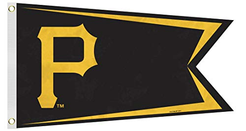 MLB Pittsburgh Pirates Boat and Golf Cart Flag ()