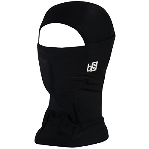 BLACKSTRAP Hood Balaclava Face Mask, Dual Layer Cold Weather Headwear for Men and Women, Black