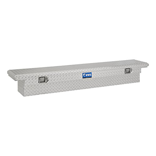 "UWS EC10541 69"" Slim-Line Crossover Truck Tool Box with Low Profile"