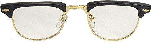 Mr. 50s Black Glasses