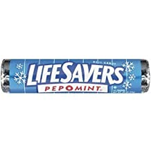 Lifesavers Candy Pep-O-Mint 20X14 Piece/Pack by Wrigley's