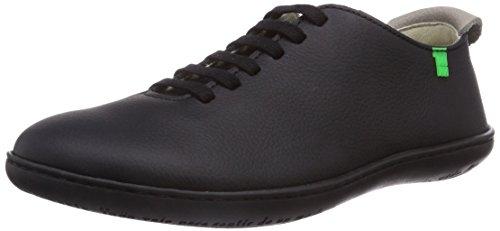 El Naturalista El Viajero, Low-Top Sneaker unisex adulto, Nero (Schwarz (Black-Black)), 46