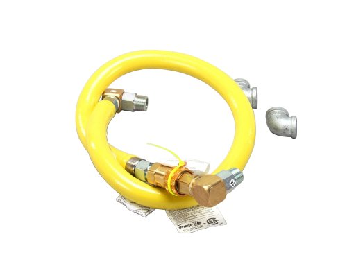 T&S Brass HG-4D-60 Gas Hose with Quick Disconnect