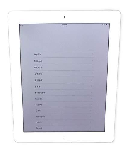 Apple iPad 2 MC979LL/A 2nd Generation Tablet (16GB, Wifi, White) (Renewed)
