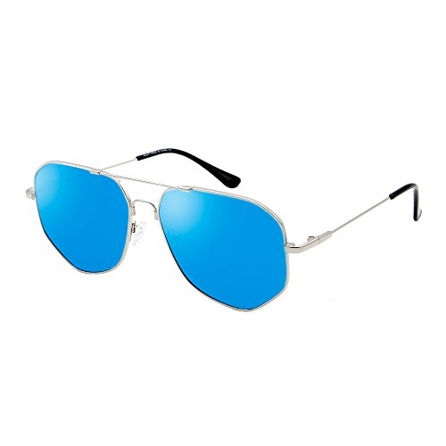 Aviator Sunglasses for Women Men Polarized Mirrored Lens 100%UV - Sunglasses Net Aviator