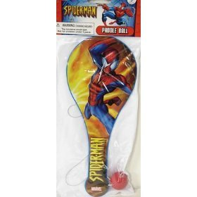 Spiderman Paddle Ball