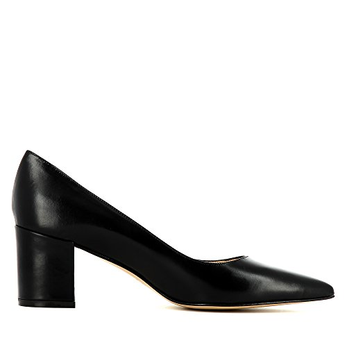 Evita Shoes Romina Damen Pumps Glattleder Schwarz