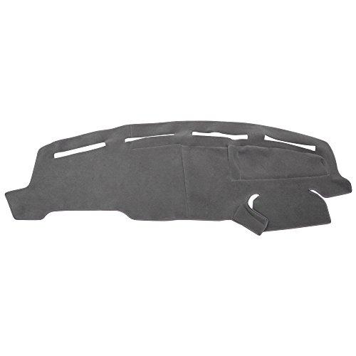 (Hex Autoparts Dash Cover Mat Dashboard Carpet Gray fit Ford F250 F350 Super Duty 1999-2004)