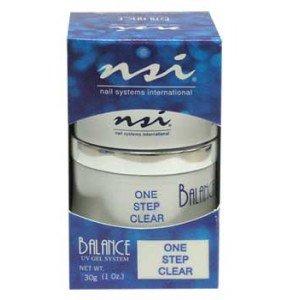 NSI Balance UV Gel - One Step Clear - 1oz / 30g