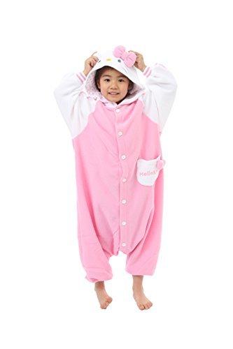 Best Old School Halloween Costumes (New Hello Kitty Kids Kigurumi (2-5 Years))