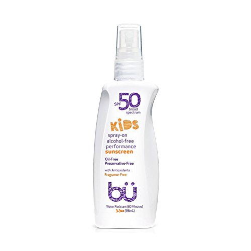 bu SPF 50 Sunscreen Spray - Nature