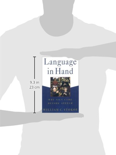 Language in Hand: Why Sign Came Before Speech