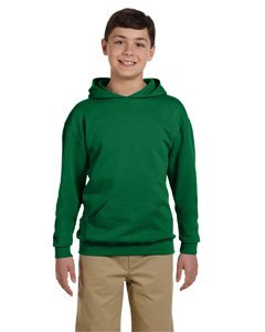 Jerzees 996Y Youth NuBlend Hooded Pullover Sweatshirt - Clover44; Small