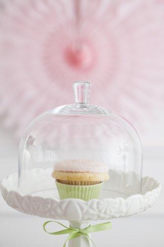 Buy vintage milk glass cake pedestals