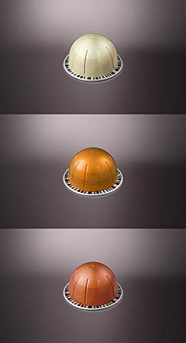 (Nespresso Vertuoline Flavored Assortment. 1 sleeve of each: Vanizio, Caramelizio & Hazelino. Total of 30)
