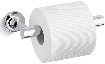 Kohler K-14377-CP Purist Double Post Pivoting Toilet Paper Holder