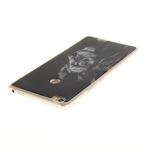 XiaoXiMi Funda XiaoMi RedMi Note 4 Carcasa de Silicona Caucho Gel para XiaoMi RedMi Note 4 Soft TPU Silicone Case Cover Funda Protectora Carcasa Blanda Caso Suave Flexible Caja Delgado Ligero Casco An el Rey León