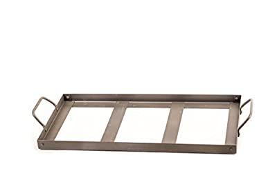"""Himalayan Chef Plate Holder for 8"""" X 16"""" X 2"""" Salt Cooking Plate, Black from Himalayan Chef"""