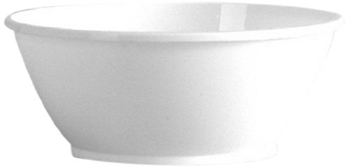 Comet Plastic High-Heat Round Dessert Dish, 6-Ounce, White (1000-Count) by WNA