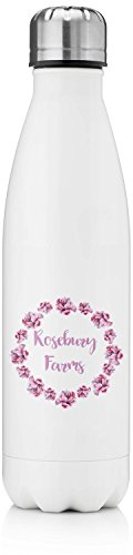 Farm House Tapered Water Bottle (Personalized)