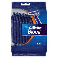 Gillette - Afeitadora corporal Gillette Blue II Plus - X 20 ...