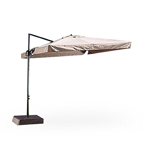 Garden Winds Square Offset Umbrella Replacement Canopy Top Cover