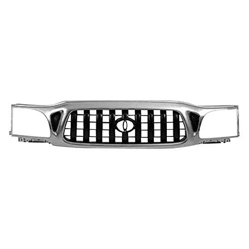 2002 Toyota Tacoma Grille - Value For 2001-2004 Tacoma 2Wd 4Wd Sr5 Sport Limited S-Runner Pickup Grille All Chrome OE Quality Replacement