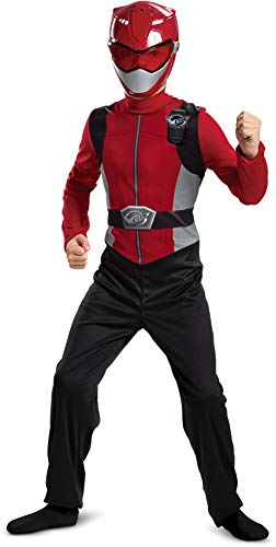 Power Rangers Samurai Halloween Costumes (Red Power Ranger Beast Morphers Basic Boys')