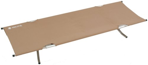 Snow Peak High Tension Cot, Beige -