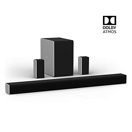 VIZIO SB36512-F6B 36inch 5.1.2 Home Theater Sound System with Dolby Atmos(Manufacturer )(Renewed) (Home Theater System Dolby)