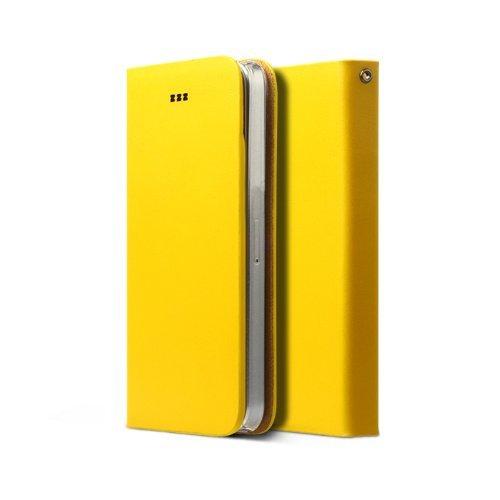 Zenus Signature Diary Case/Tasche Senf für Apple iPhone 5/5S