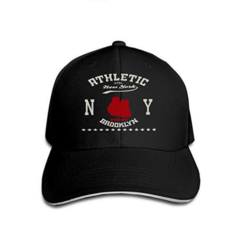Classic 100% Cotton Hat Caps Unisex Fashion Baseball Cap Adjustable ny New York City Typography Boxing Brooklyn -