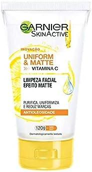 Limpeza Facial Garnier Uniform&Matte, 120G, Gar