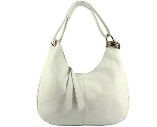 Nat Chloly Women's Top Blanc handle White Bag 115rqwU