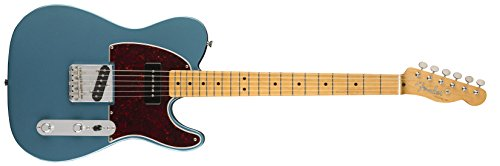 Chrome Special Edition Guitar - Fender FSR Special Edition '50s Telecaster 90 Electric Guitar (Lake Placid Blue)
