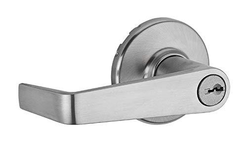 Kwikset 756KNL-26D Kingston Light Commercial Door Lock Satin Chrome Finish