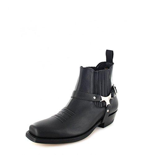 Mayura Boots Stiefel Ruben Bikerstiefelette Schwarz