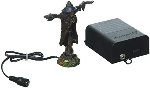 Department 56 Halloween Accessories Collections Lit Sinister Scarecrow Village Lights, Multicolor]()