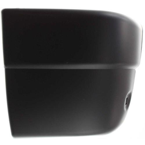 Make Auto Parts Manufacturing - BUMPER END; REAR; BLACK; LH - IZ1104103