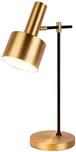GYing Lámpara de Mesa Moderna, lámpara de Mesa Industrial con ...