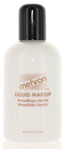 Price comparison product image Mehron Liquid Face Paints - White W (4.5 oz)