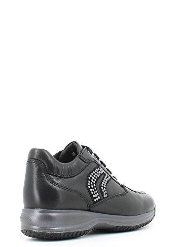 Calzado deportivo para mujer, color Negro , marca GEOX, modelo Calzado Deportivo Para Mujer GEOX D HAPPY C Negro