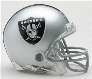(Riddell Oakland Raiders Replica Mini)